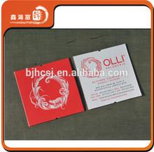 XHFJ-B-BCC18 letterpress paper special shape business card printing
