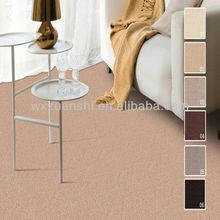 Chunguang-wool tufted cut pile plain carpet, modern design shaggy carpet,jute backing carpet