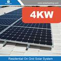 melhor preço barato 4kw sistema de energia solar inclui chinês painéis solares para a venda também chamado residencial sistemas de energia solar