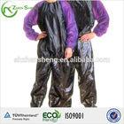 sauna sweat suit pvc