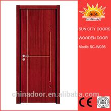 Furniture fitting home wooden door design