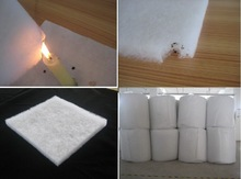 Thermal Bonded(Hot Air Through) nonwoven flame retardant clothing