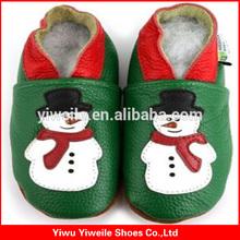 2014 alibaba fashion designer new model leather baby born doll shoes