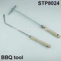 wooden hand digging tools