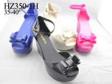 2014 New Style High Heel Wedge Sandals