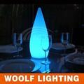restaurante led recarregável mesa de jantar luz decorativa