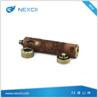 NexCii Top high end wood & brass wood x-gun vape mod x gun nemesis mechanical mod vaporizer pen