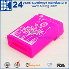 Hot Sale Popular Colorful Food Grade Template silicone cigarette case