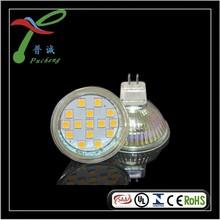 12v glass gu5.3 block of flats led spot light