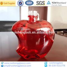 150ml/500ml colored decorative spirits glass bottle