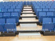 professional desgin sports multifunction telescopic university sea,stand for indoor basketball,badminton multi-purpose use