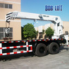 Telescopic boom 16 ton used derrick crane for sale with lifting 21m made in China SQ16SA5