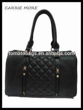 Manufacturer wholesale black quilting original brand handbag
