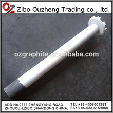 aluminum purification graphite rotor, graphite impeller, graphite rotator