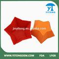 grau alimentício bonito vermelho ou laranja star shapefood grau borboleta bolo moldes de silicone