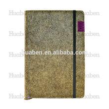 polyester felt beautiful gift notebook handmade