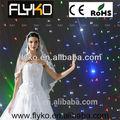 Fireproof& visão levou star tecido/led cortina de estrelas/casamento organza cortina de pano de fundo