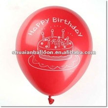 12 inch promotion gift helium advertising diy photo balloons