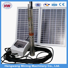 solar powered submersible deep well water pumps/water cooled solar panels