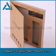 Custom cell phone screen protective film Kraft paper box packaging carton KA001