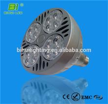 TUV CE UL CUL high efficiency 5w rgb led bulb e27 with remote control