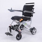 The lightest weight folding powered wheelchair in the world