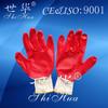 nitrile foam coated glove red working gloves