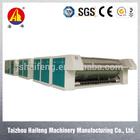 Industrial laundry roller iron sheet ironing machine