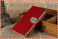 wholesale Lizard grain stand leather case For Samsung Note 3
