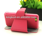 Kingcase high quality wallet card holder stand mouse line cell phone case for iphone 5c case