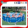 """Intex 15' x 48"""" estrutura metálica da piscina"""