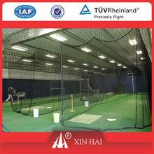 HDPE netting for Baseball batting cage, HDPE baseball netting