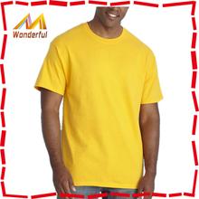 Low price 100 cotton t shirt plain color for sublimation printing design