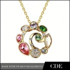 China Wholesale Heart Link Necklace
