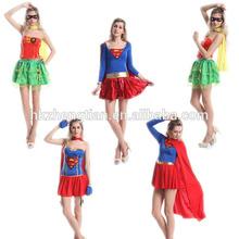 con licencia para adultos sexy damas nuevo superhéroe elegante traje de vestir los superhéroes de películas