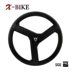 XBIKE high stiffness T1000 lightweight fixed gear spoke carbon road wheel