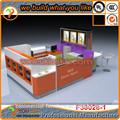 Hot vente utilisé centre des kiosques, crème glacée vitrine, vitrine réfrigérée design pour la vente