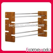 Morden design shoe rack /MDF frame shoe shelves / expandable shoes rack