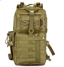 military tactical assault backpack wolf brown color