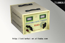 60A max power motorcycle battery chargers
