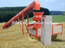 Bio fuel making line plc control biomass briquette machine production line