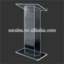 Detachable Design Acrylic School Dais Podium/Lectern/Pulpit For Lectern
