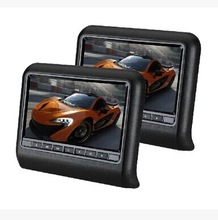 headrest car monitor with Slot-in DVD Loader,without pillow