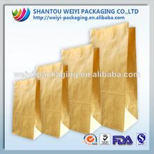 kraft paper bakery bag,paper sandwich bag,printed brown sandwich bag