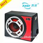"2014 new fashional design 12"" 150W/12Vsubwoofer amplifier car auto subwoofer"