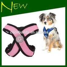 "2014 New ""X"" shape Comfort Soft Air-mesh Harness pet accessory"