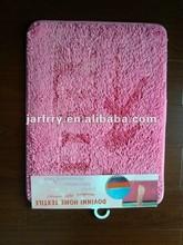 Thick hair microfiber chenille door mat out of bath room mat