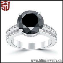 Good Quality Innovative Two ElegantSilver Ring