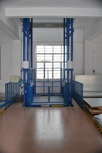 hydraulic vertical wall mounted cargo elevator for sale