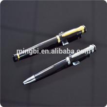 2014 factory wholesale push action ballpoint pen free sample in guangzhou